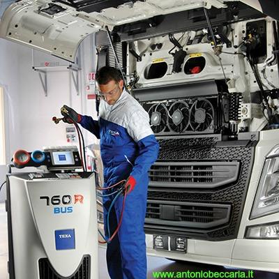 Texa 760R BUS immagine operatore su camion