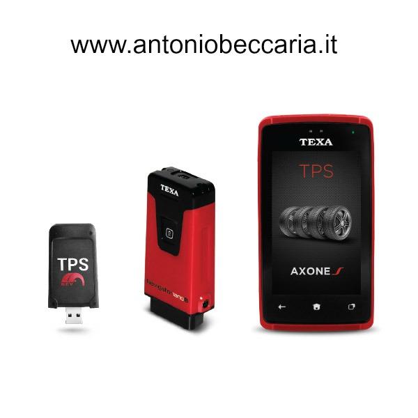Texa Axone S TPS immagine prodotto con Navigator NANOs e TPS Key