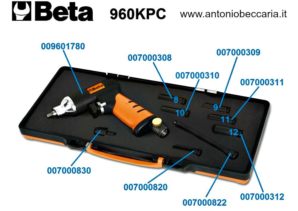 009600780 960KPC Ricambi estrattore reversibile ad impulsi con coppia regolabile per candelette di preriscaldamento 1-4