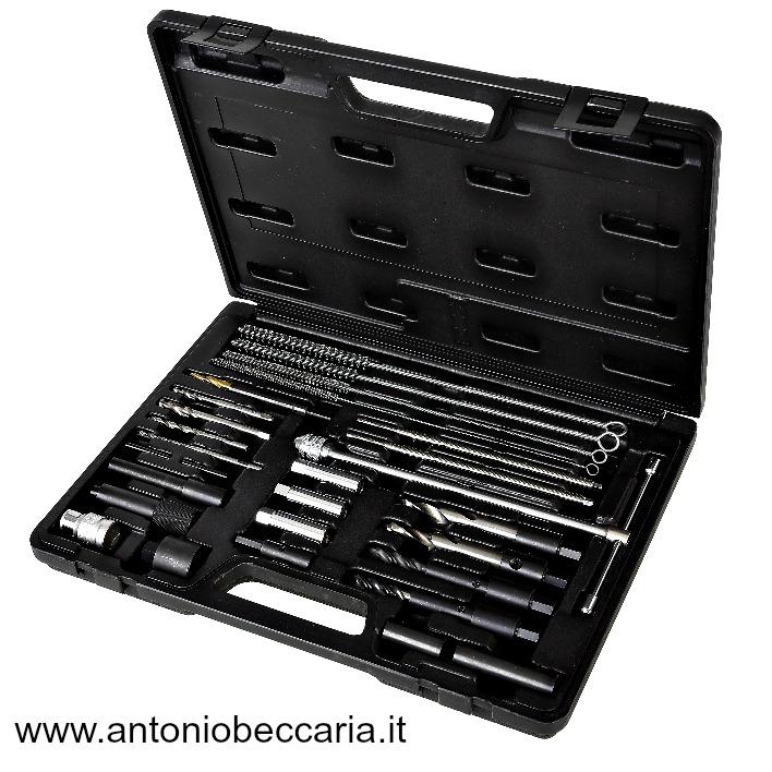 009600801 960KC-M8-M9-M10 assortimento di utensili per la rimozione delle candelette di preriscaldamento spezzate o danneggiate