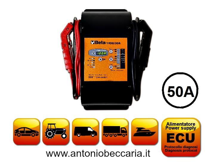 014980050 1498-50A Caricabatterie elettronico 12V multifunzione 1