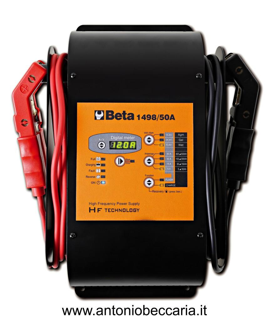 014980050 1498-50A Caricabatterie elettronico 12V multifunzione