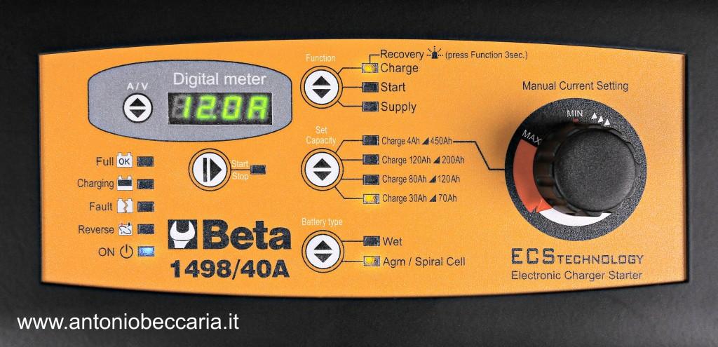 149840A 014980140 149840A Beta Caricabatterie avviatore multifunzione 12-24V carrellato 1