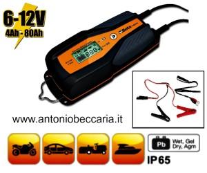 14984A 014980104 14984A Caricabatterie elettronico 6V - 12V auto - moto 3