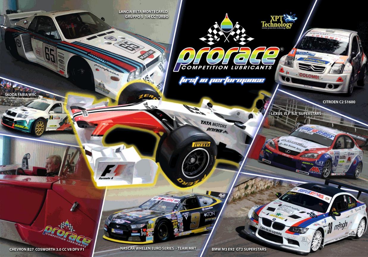 Prorace copertina Auto Racing