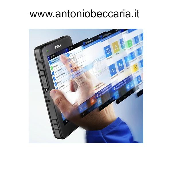 Texa Axone 4 Mini immagine software