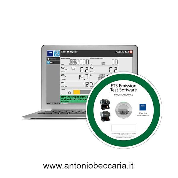 Texa ETS Emission Test Software