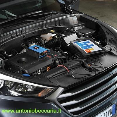 Texa UNIPROBE immagine auto con Axone Nemo